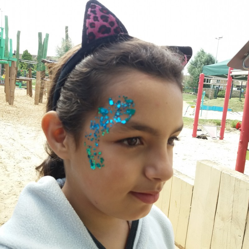 The face glitter looks good done by the Essential Skills for Life Team.