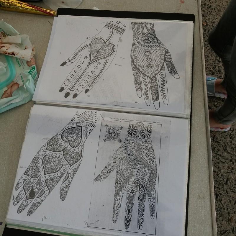 Some lovely inspiring Henna design ideas.