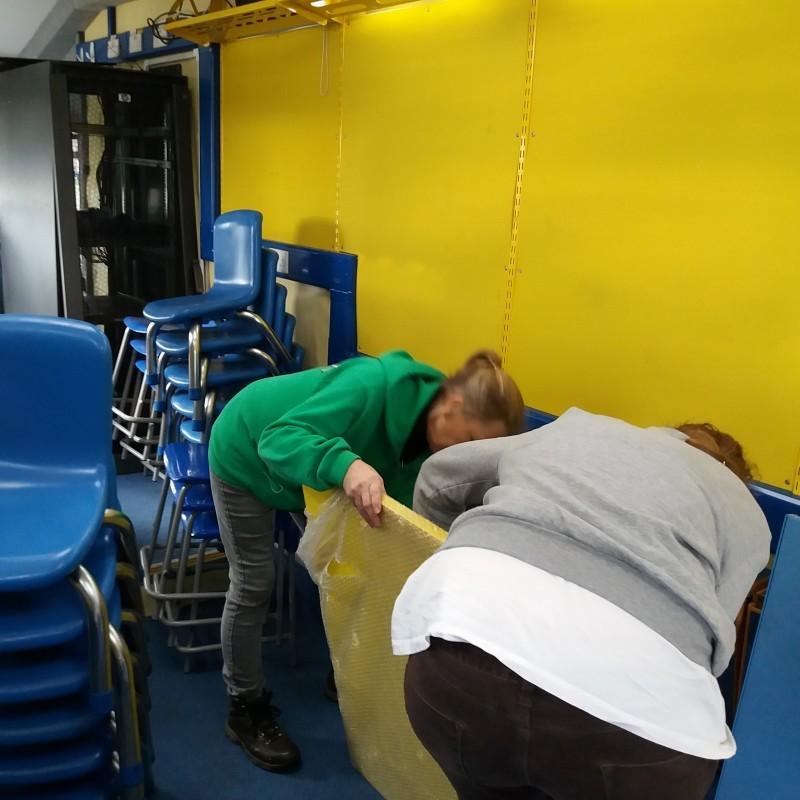 Preparing the wall panels