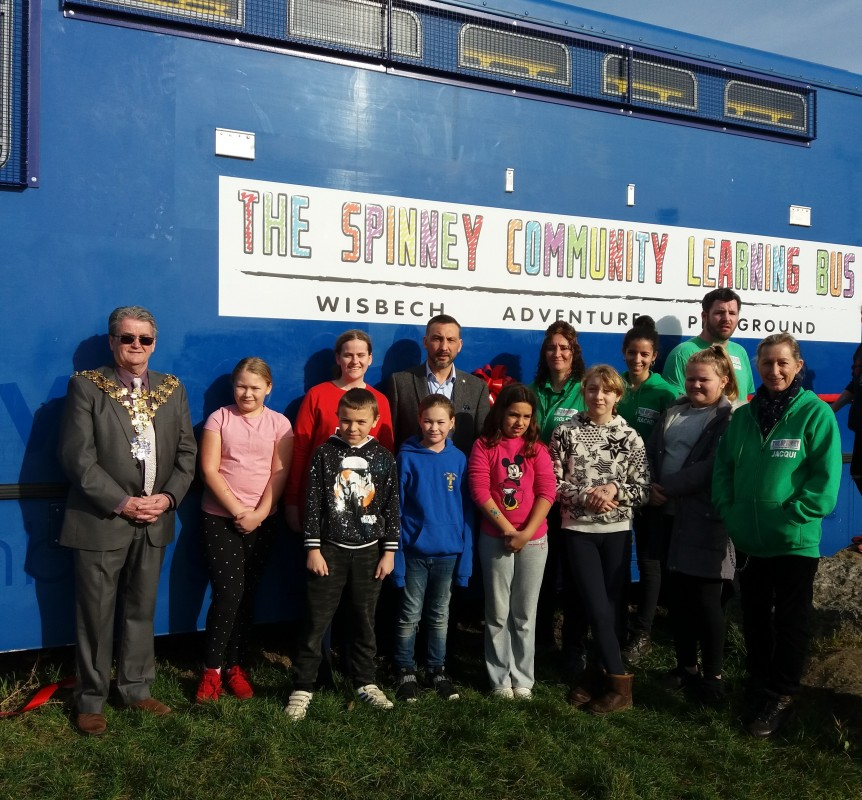 Wisbech Playground Learning Bus