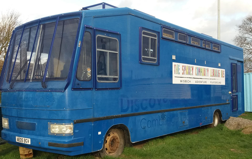 The Spinney Community Learning Bus