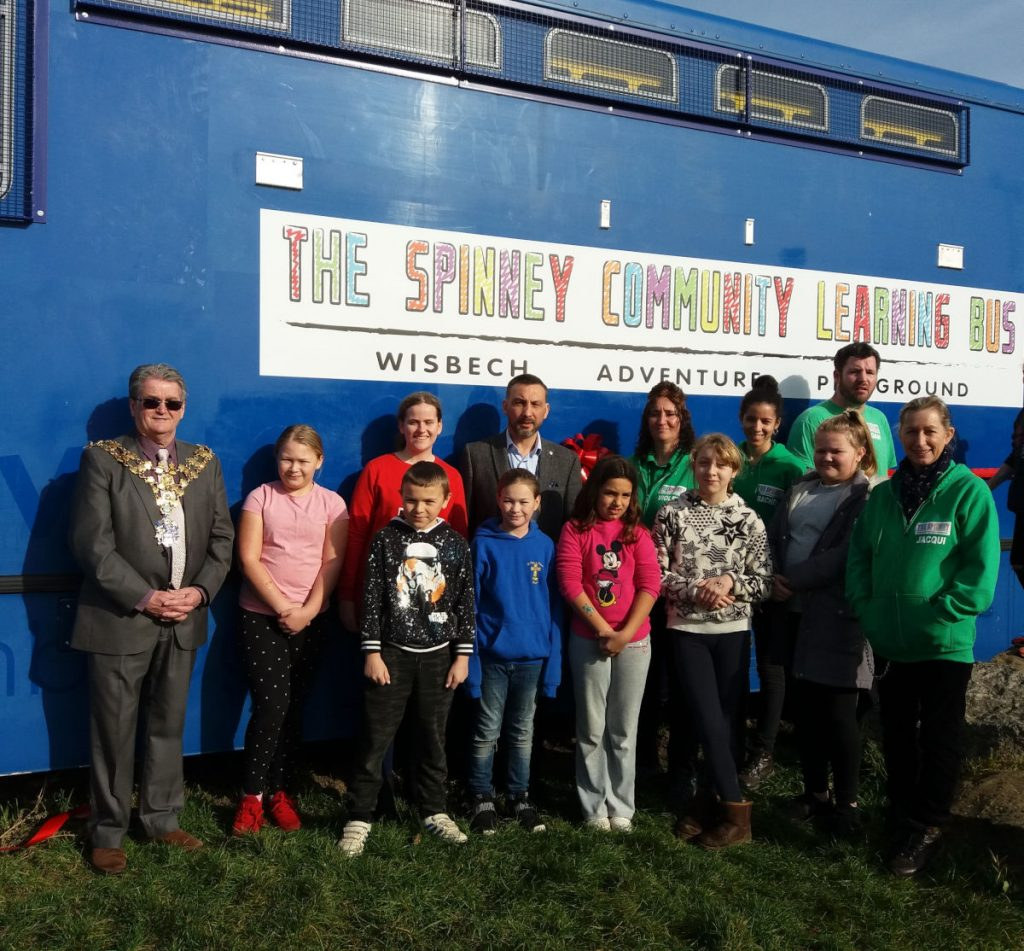 Wisbech Adventure Playground Learning Bus